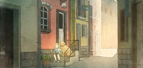 街角のひととき