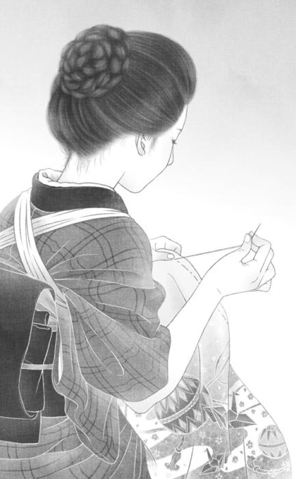 「共謀小説家」1話・挿絵1