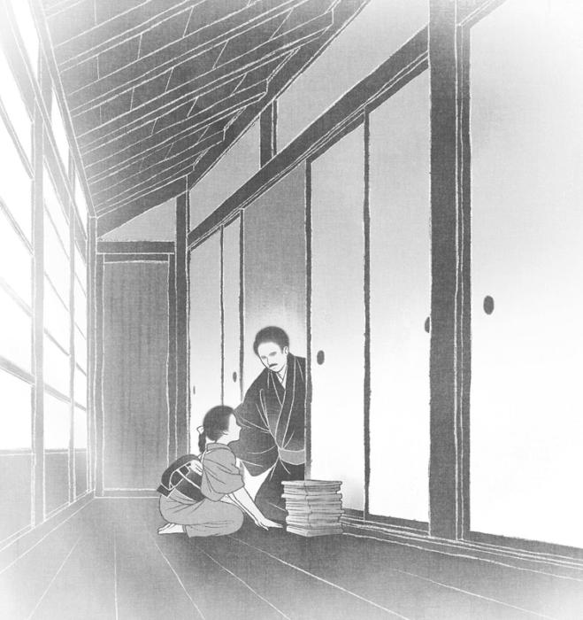 「共謀小説家」1話・挿絵2