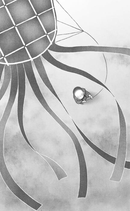 「共謀小説家」3話・挿絵1