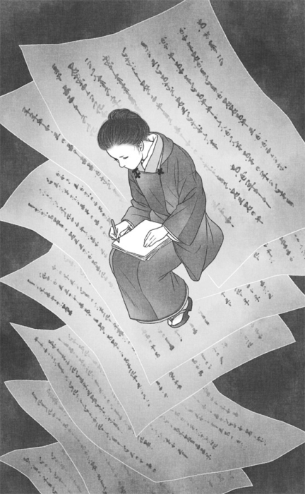 「共謀小説家」3話・挿絵2