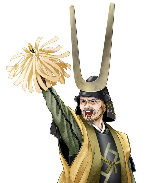 「くらべる戦国武将図鑑」:真田昌幸