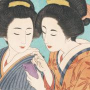 浮世絵風イラスト